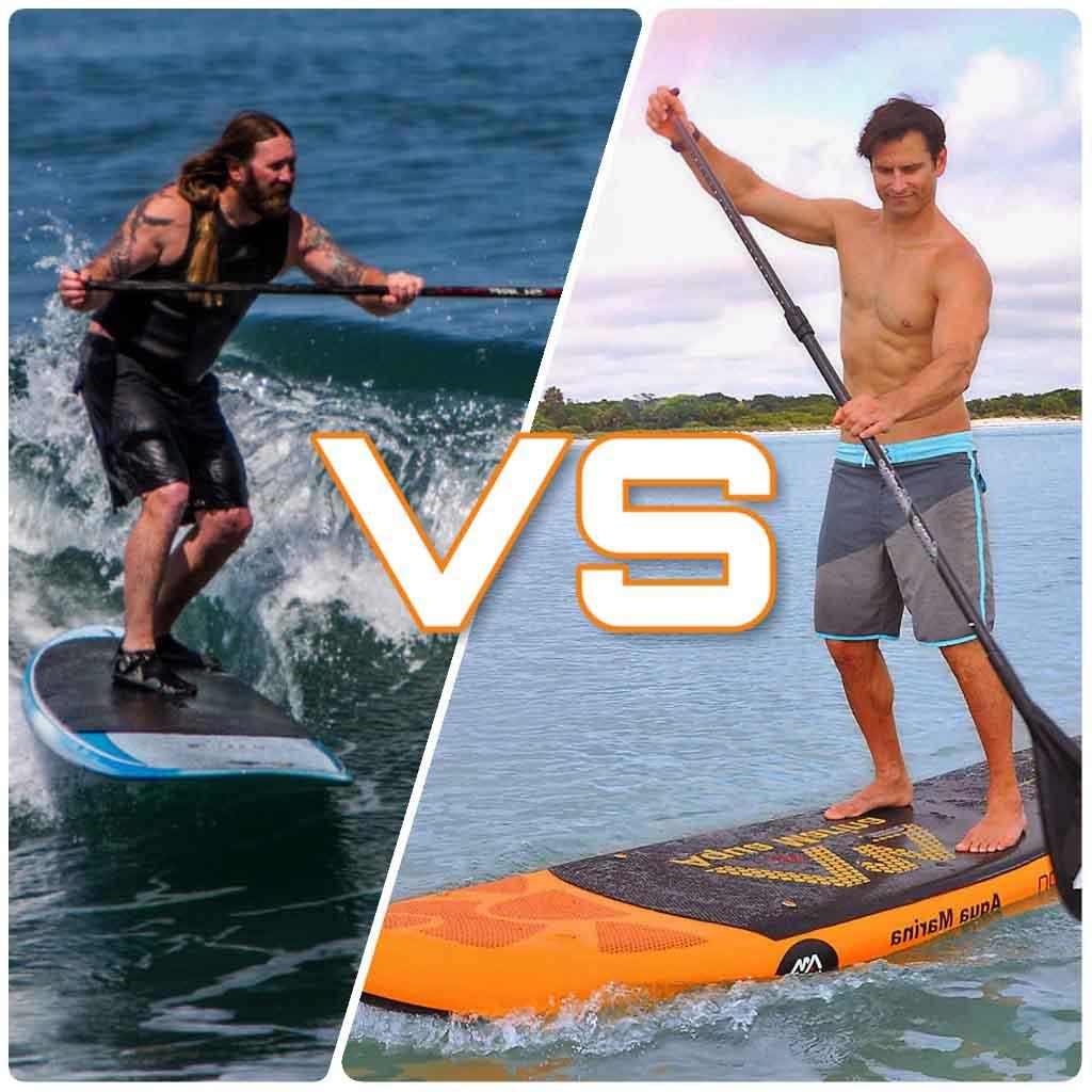 ¿Tabla de paddle surf hinchable o rígida? Qué tabla de paddle surf comprar