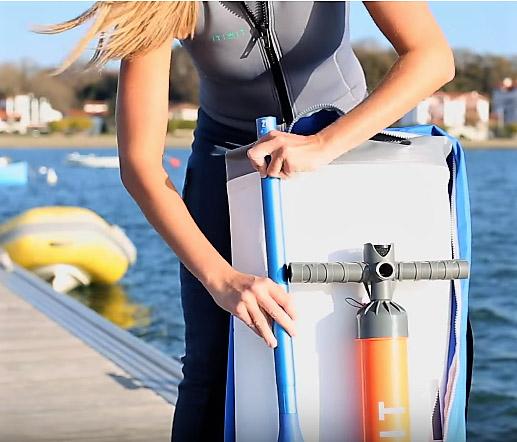 Cómo guardar tu tabla de paddle surf hinchable en 10 pasos