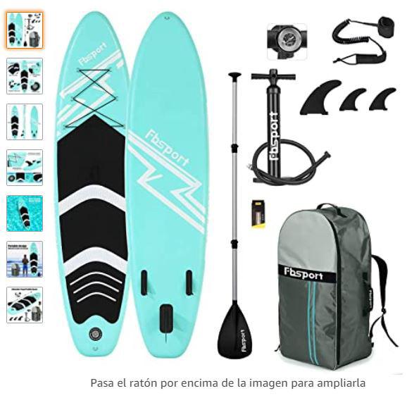 Tabla de paddle surf hinchable barata
