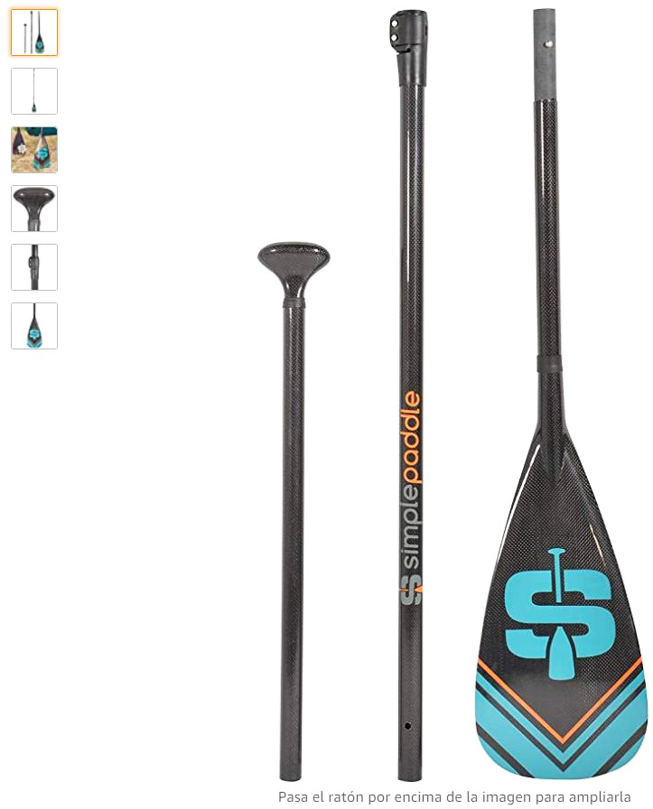 Mejores remos paddle surf carbono